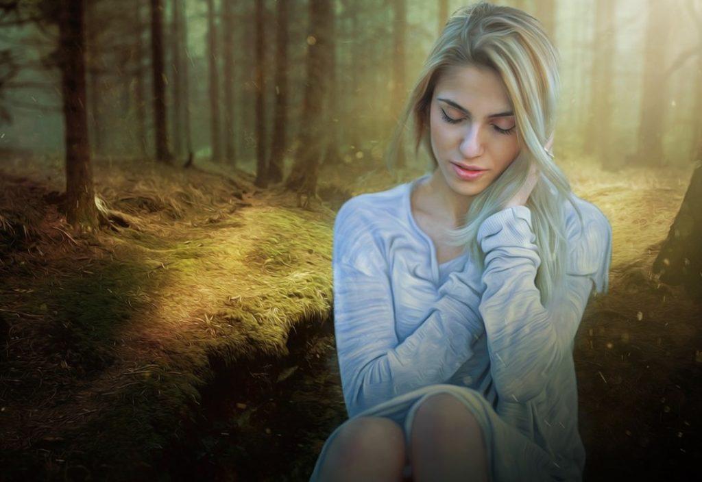 Женщина - одиночество